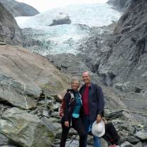 Franz Josef Glacier - hiking boundary